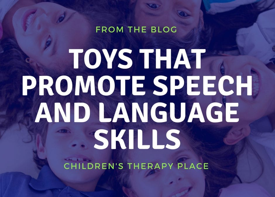 Toys That Promote Speech and Language Skills