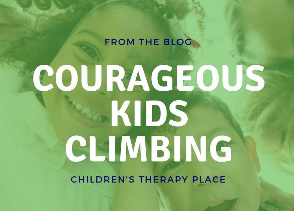 Courageous Kids Climbing Newsletter