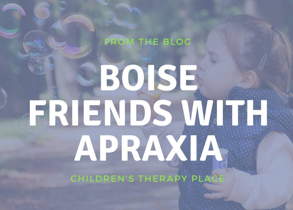 Boise Friends with Apraxia