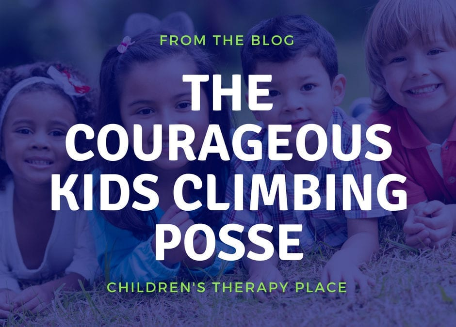 The Courageous Kids Climbing Posse