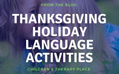 Thanksgiving Holiday Language Activities