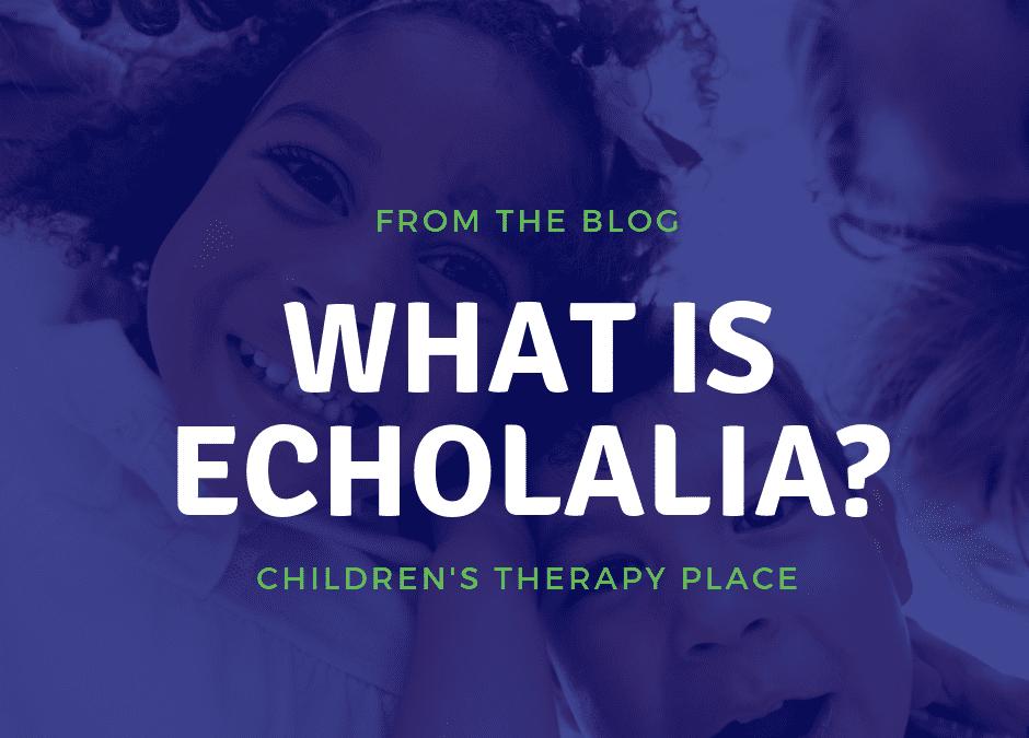 What is echolalia?