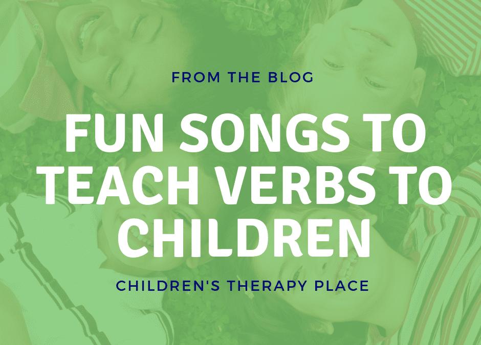 Fun songs to teach verbs to children