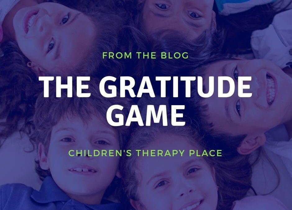 THE GRATITUDE GAME!